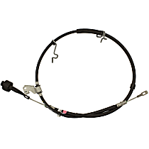 BRCA-100 Parking Brake Cable - Direct Fit, Sold individually