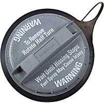 Gas Cap - Gray, Non-locking, Direct Fit, Sold individually