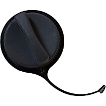 Gas Cap - Black, Non-locking, Direct Fit, Sold individually Left