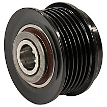 Motorcraft GP-752 Alternator Pulley - Black, Direct Fit, Sold individually