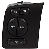 SW-6291 Cruise Control Switch - Direct Fit, Sold individually