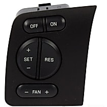 Motorcraft SW-6291 Cruise Control Switch - Direct Fit, Sold individually