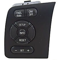 SW-6769 Cruise Control Switch - Direct Fit, Sold individually