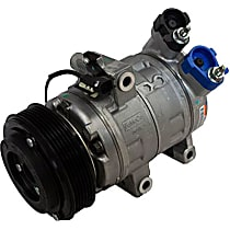 YCC-229 A/C Compressor Sold individually With clutch, 6-Groove Pulley