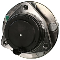Front Driver or Passenger Side Wheel Hub With Ball Bearing - Sold individually