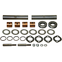 King Pin Bolt Set - Direct Fit, Kit Front