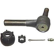 Tie Rod End - Sold individually Front or Rear Driver Side, Inner