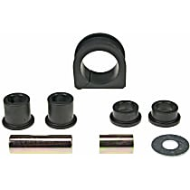 K200208 Steering Rack Bushing - Black, Rubber, Direct Fit, Kit