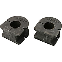 Sway Bar Bushing - Direct Fit, Set of 2 Front or Rear To Frame