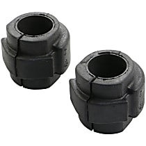 K201600 Sway Bar Bushing - Rubber, Direct Fit, Set of 2