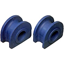 Sway Bar Bushing - Rubber, Direct Fit, Kit Rear