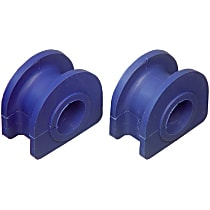 Sway Bar Bushing - Thermoplastic, Direct Fit, Kit Front Or Rear