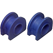 Sway Bar Bushing - Rubber, Direct Fit, Kit Front Or Rear