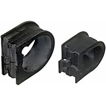 K7112 Steering Rack Bushing - Black, Rubber, Direct Fit, Sold individually