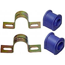 Sway Bar Bushing - Thermoplastic, Direct Fit, Kit Rear