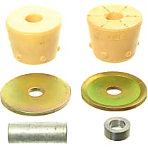 Strut Mount Bushing - Yellow, Rubber, Direct Fit, Kit