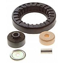 K90404 Strut Mount Bushing - Black, Rubber, Direct Fit, Kit