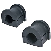 Sway Bar Bushing - Rubber, Direct Fit, Kit Front To Frame
