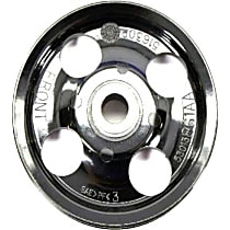 Mopar 53013861AA Power Steering Pump Pulley - Black, Direct Fit, Sold individually