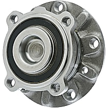 WH513172 Front, Driver or Passenger Side Wheel Hub With Ball Bearing - Sold individually