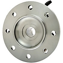 Front, Driver Side Wheel Hub With Tapered bearing - Sold individually