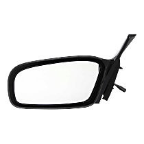 Mirror Non-folding Non-Heated - Driver Side, Manual Glass, Paintable