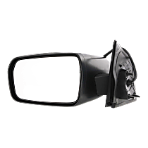 Mirror - Driver Side, Power, Heated, Textured Black