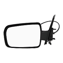Mirror - Driver Side, Power, Textured Black