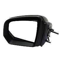 Mirror Manual Folding - Driver Side, In-housing Signal Light, Paintable