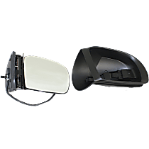 Mirror - Passenger Side, Power, Heated, Power Folding, Paintable, With Turn Signal and Puddle Lamp