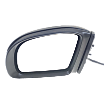 Mirror - Driver Side, Power, Heated, Power Folding, Paintable, With Turn Signal and Memory