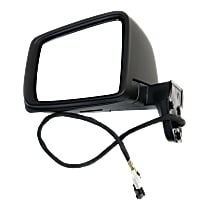 Mirror Power Folding Heated - Driver Side, Power Glass, In-housing Signal Light, Paintable