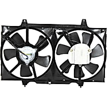 OE Replacement Radiator Fan - Excludes 2000-01 w/ Manual Trans.