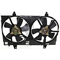 OE Replacement Radiator Fan - 4-Pin Plug