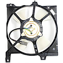 OE Replacement Radiator Fan - Fits 1.6L, w/ Auto Trans., Driver Side