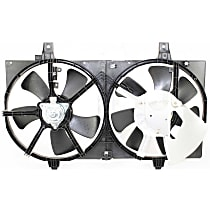 OE Replacement Radiator Fan - Fits 1.8L, w/ Factory Air