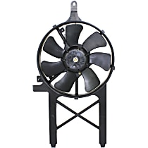 OE Replacement A/C Condenser Fan - Fits 4.0L, Mounts Behind Grille