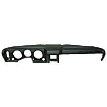 ABS Plastic Dash Cover - Black