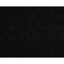 Front Carpet Kit - Black, Carpet