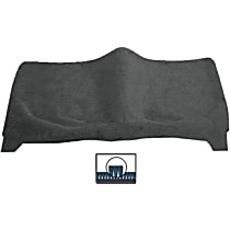 Rear Carpet Kit - Gray, Carpet