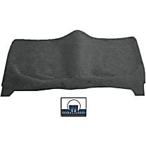 Rear Carpet Kit - Gray, Carpet
