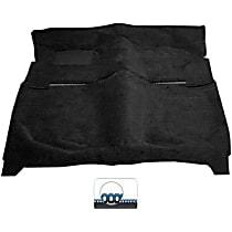 111C-BK Carpet Kit - Black, Loop carpet