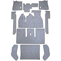 112-GR Carpet Kit - Gray, Loop carpet