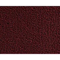 12C-0001625 Front Carpet Kit - Red, Loop carpet