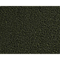13-0012609 Front and Rear Carpet Kit - Green, Loop carpet