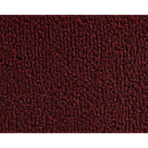 13-0012625 Front and Rear Carpet Kit - Red, Loop carpet