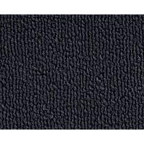 1300-2012602 Front and Rear Carpet Kit - Blue, Loop carpet