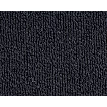 Front and Rear Carpet Kit - Blue, Loop carpet