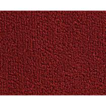 1307-2012615 Front and Rear Carpet Kit - Red, Loop carpet