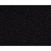 Front and Rear Carpet Kit - Black, Loop carpet